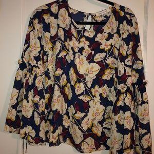 Rose + Olive Long Sleeve Shirt